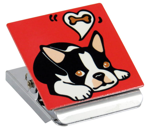 Boston Terrier Clip Magnet