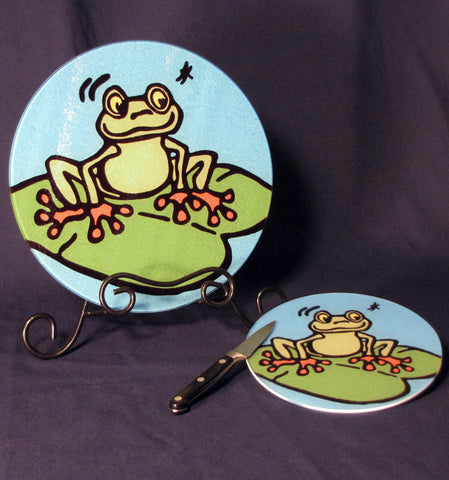 Frog Cutting Board - 2 sizes available