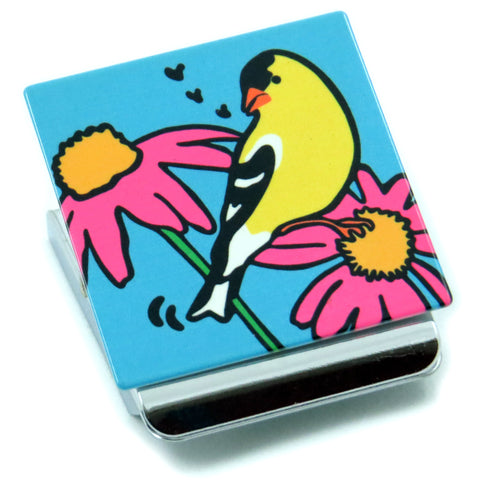 Goldfinch Clip Magnet