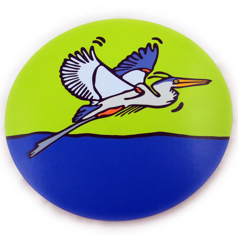 Great Blue Heron Lazy Susan