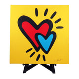 Hearts Fine Art Canvas - 2 sizes available