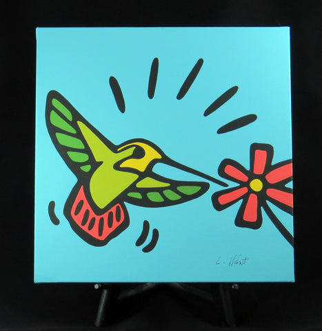 Hummingbird Fine Art Canvas - 2 sizes available