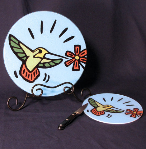 Hummingbird Cutting Board - 2 sizes available