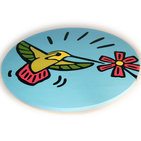 Hummingbird Lazy Susan