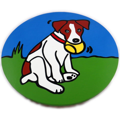 Jack Russell Terrier Dog/Puppy Lazy Susan