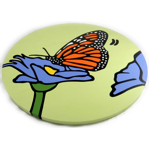 Monarch Butterfly Lazy Susan