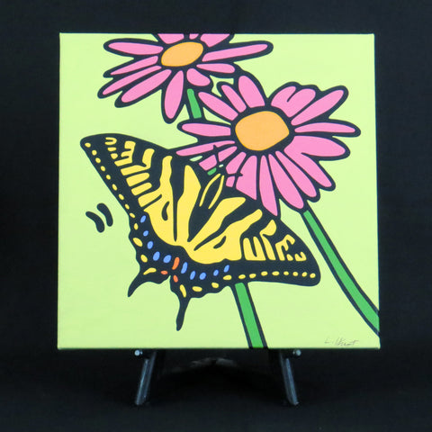 Tiger Swallowtail Butterfly Fine Art Canvas - 2 sizes available
