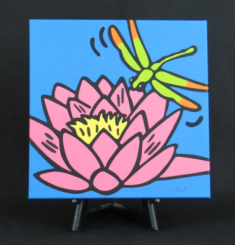 Waterlily Fine Art Canvas - 2 sizes available