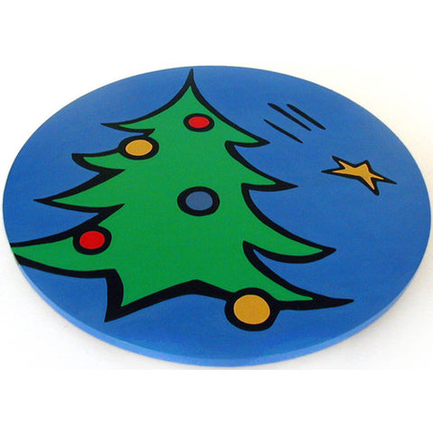 Christmas Tree Lazy Susan