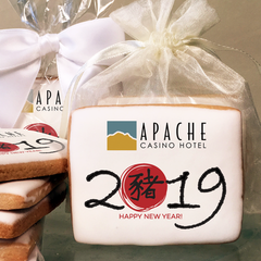 New Year's Cookies & Favors