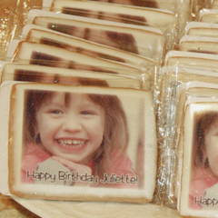 Custom Photo Birthday Favors
