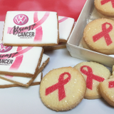 Calendar Breast Cancer Awareness Branded Cookie | Freedom Bakery