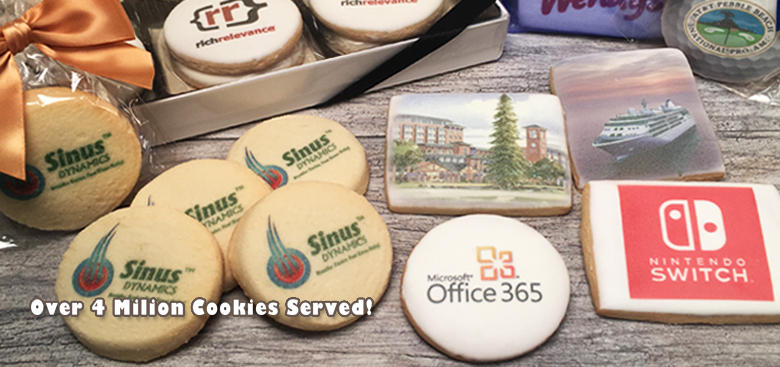 The Original Paperless Logo Cookie Bakery | Freedom Bakery
