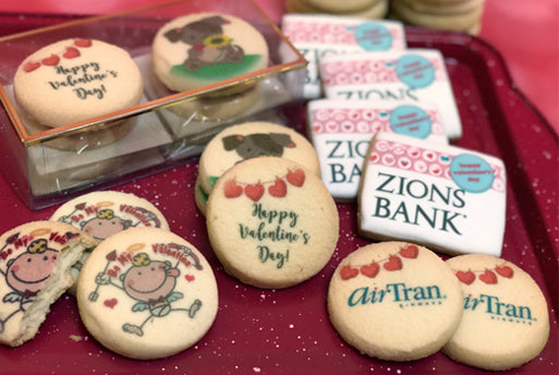 Freedom Bakery New Year's and Valentine's Day Cookie Favors & Gifts