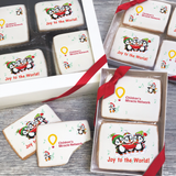 Holiday Penguins Logo Cookie Gift Box (3 Sizes)
