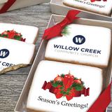 Holiday Candles Logo Cookie Gift Box (3 Sizes)