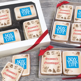Seasons Greetings Logo Cookie Gift Box (3 Sizes)
