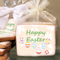 Easter Egg Photo Cookies