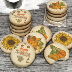 48 Happy Thanksgiving Harvest Cookie Pack