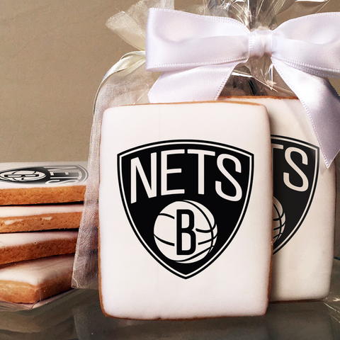 NBA Brooklyn Nets Cookies