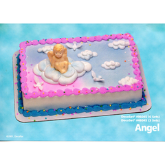 Angel Toy Cake