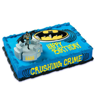 Batman Cruiser Licensed Toy Cake