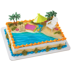 Beach & Ocean Themed Cakes