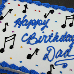 Music & Instruments Themed Cakes