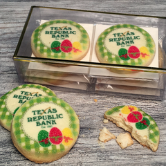 6 Easter Logo Cookie Emblems Gift Box