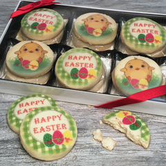 12 Easter Cookies in Gift Box
