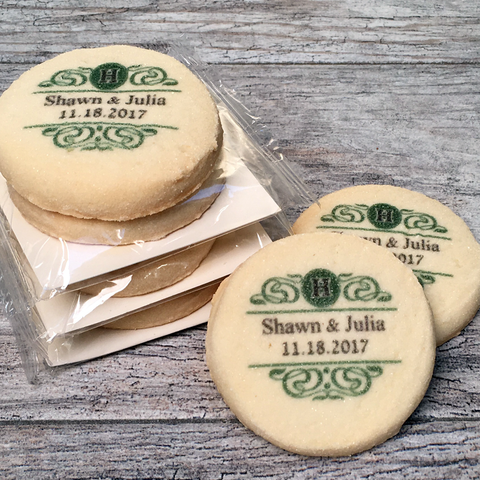 Custom Imprinted Cookie Emblems with Cello Wrap