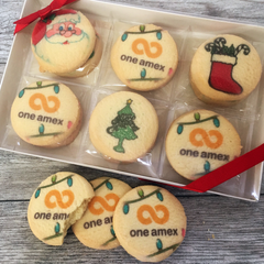 Christmas Delivery Logo Cookie Gift Box