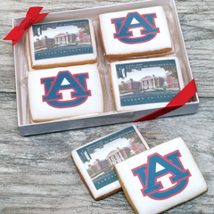 8 Custom Logo Cookies Gift Box