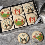 Shelter In Place Cookie Emblem Gift Box