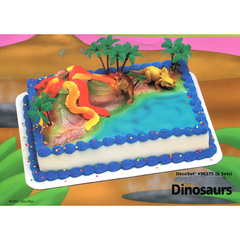 Dinosaurs & Dragons Themed Cakes