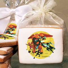 Big Hero 6 Crime Fighting Heroes Photo Cookies
