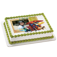 San Fransokyo Super Heroes Big Hero 6  Photo Cake