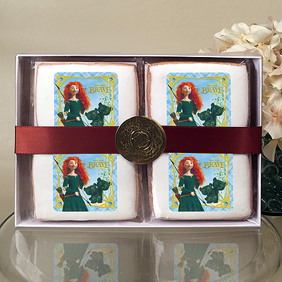 Brave Merida and Cubs Cookie Gift Box