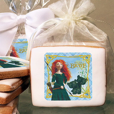 Brave Merida and Cubs Photo Cookies