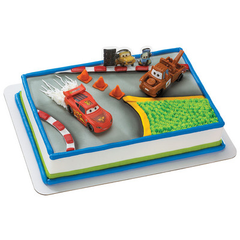 Cars 2 World Grand Prix Licensed Toy Cake