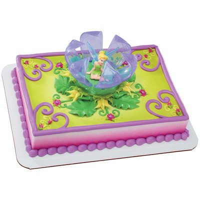 Disney Fairies Tinker Bell in Flower Licensed Toy Cake