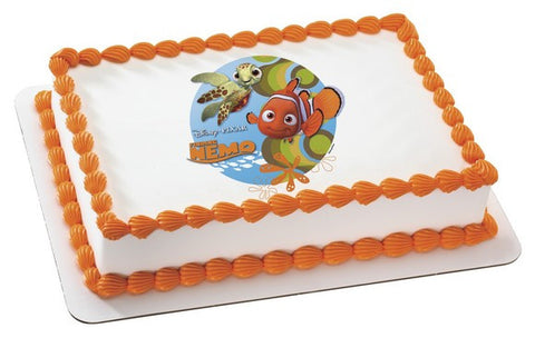 Finding Nemo, Nemo and Squirt Photo Cake
