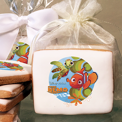 Finding Nemo, Nemo and Squirt Photo Cookies