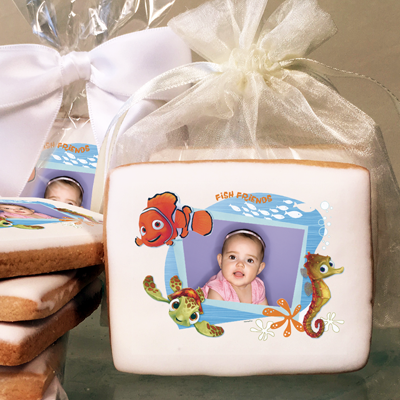Finding Nemo Fish Friends Photo Cookies