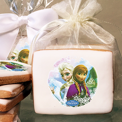 Frozen Sisters Photo Cookies