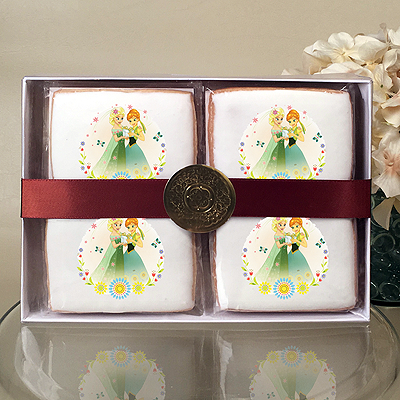 Frozen Summer Solstice Cookie Gift Box