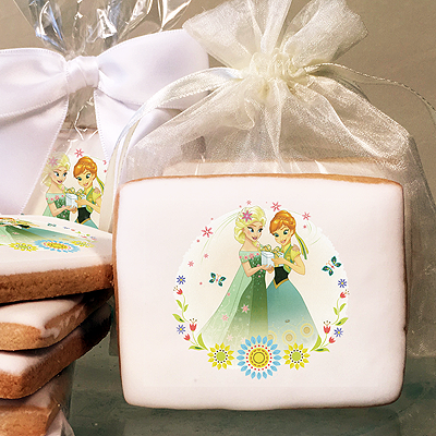 Frozen Summer Solstice Photo Cookies