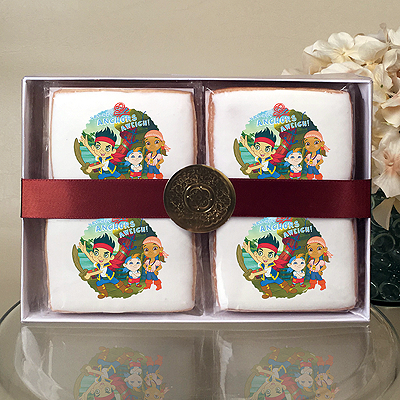 Jake and the Neverland Pirates Anchors Aweigh Cookie Gift Box