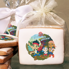 Jake and the Neverland Pirates Anchors Aweigh Photo Cookies