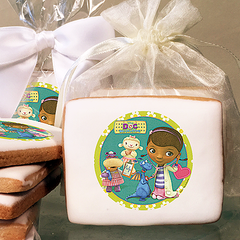 Doc McStuffins Doc & Friends Photo Cookies